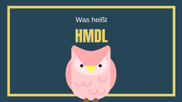 Bedeutung: HMDL