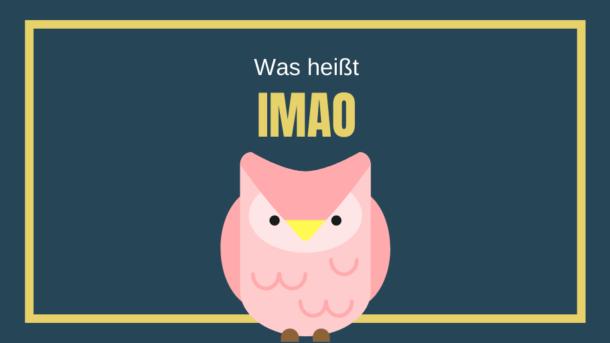 Was heißt IMAO